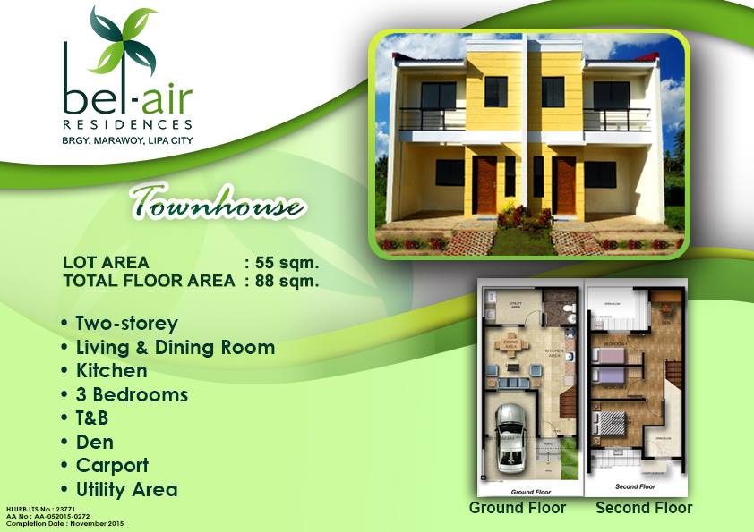 Bel-Air RFO_Townhouse